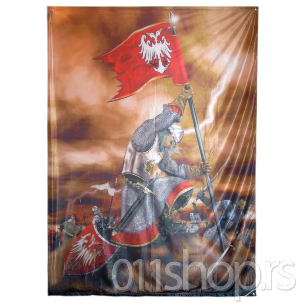 Zastava Kosovski boj (200 cm X 100 cm)