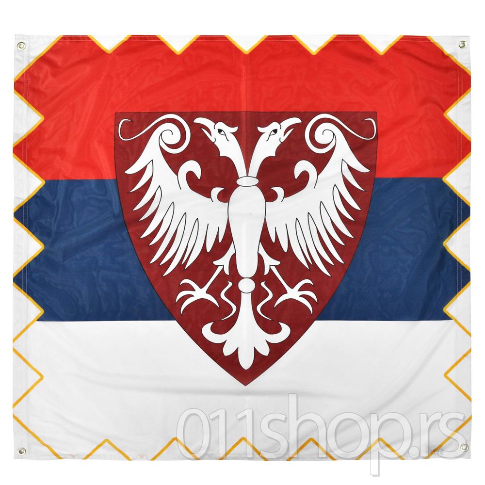 Zastava Nemanjićki orao (100 cm X 100 cm)