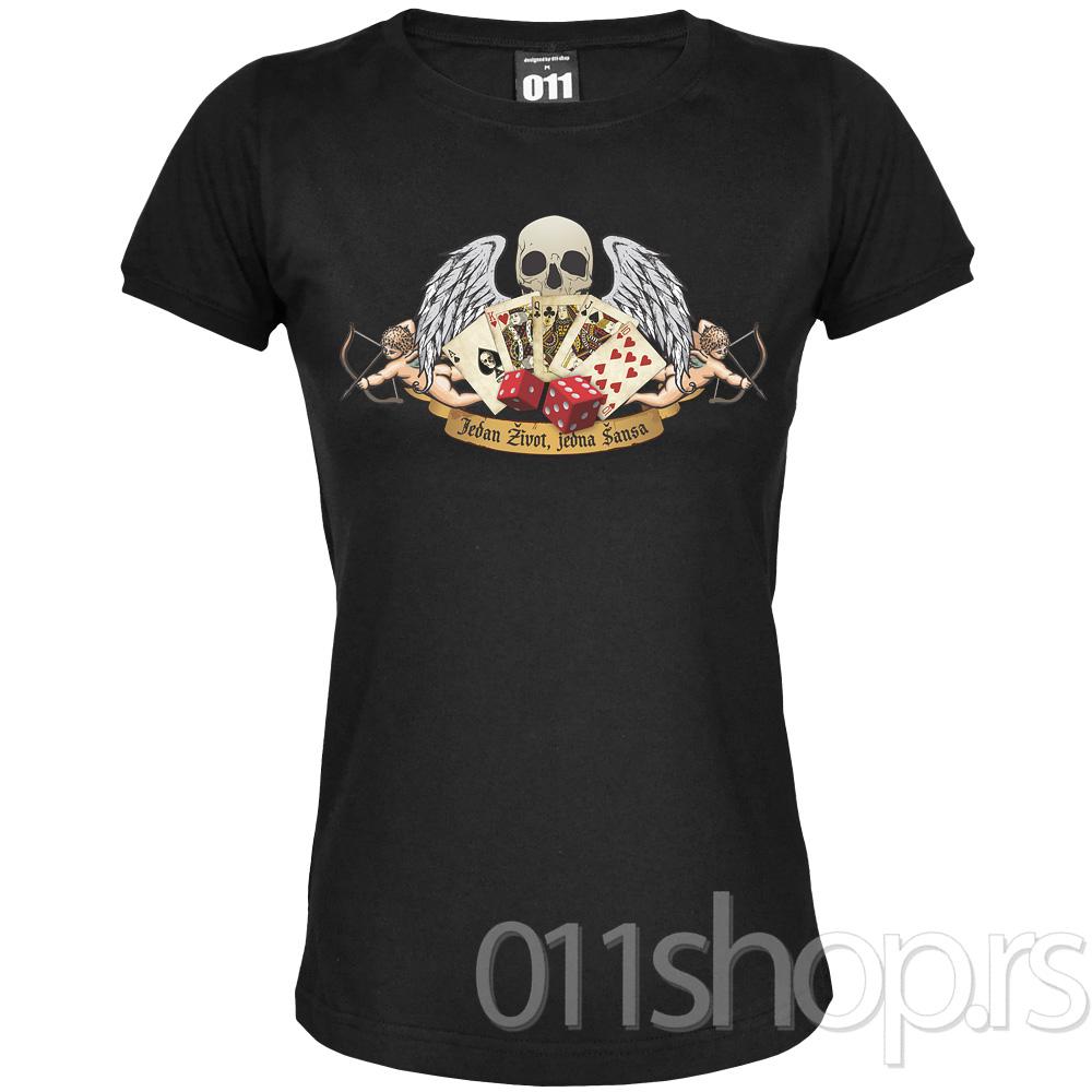 Ženska majica: Jedan život, jedna šansa
