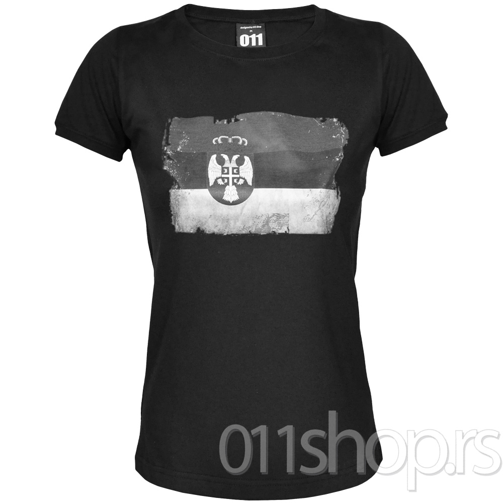 Ženska majica Zastava destroyed