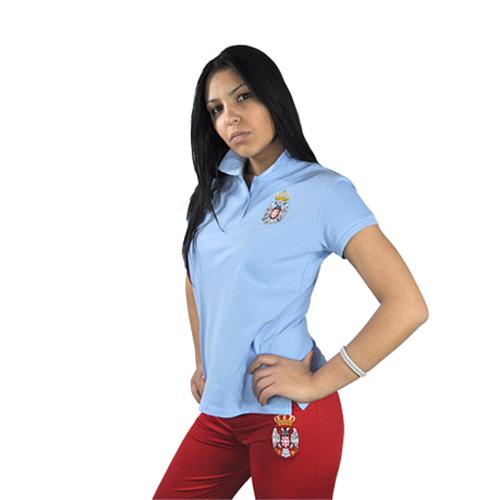 Ženska polo majica - plava