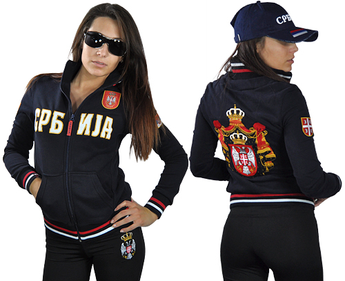 Jacket Serbia - Women (Navy blue)